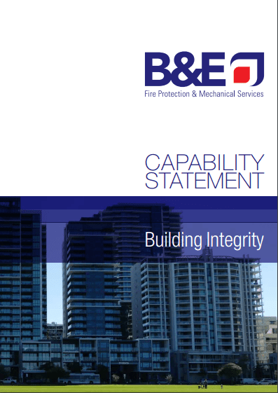 B&E Fire Capability Statement