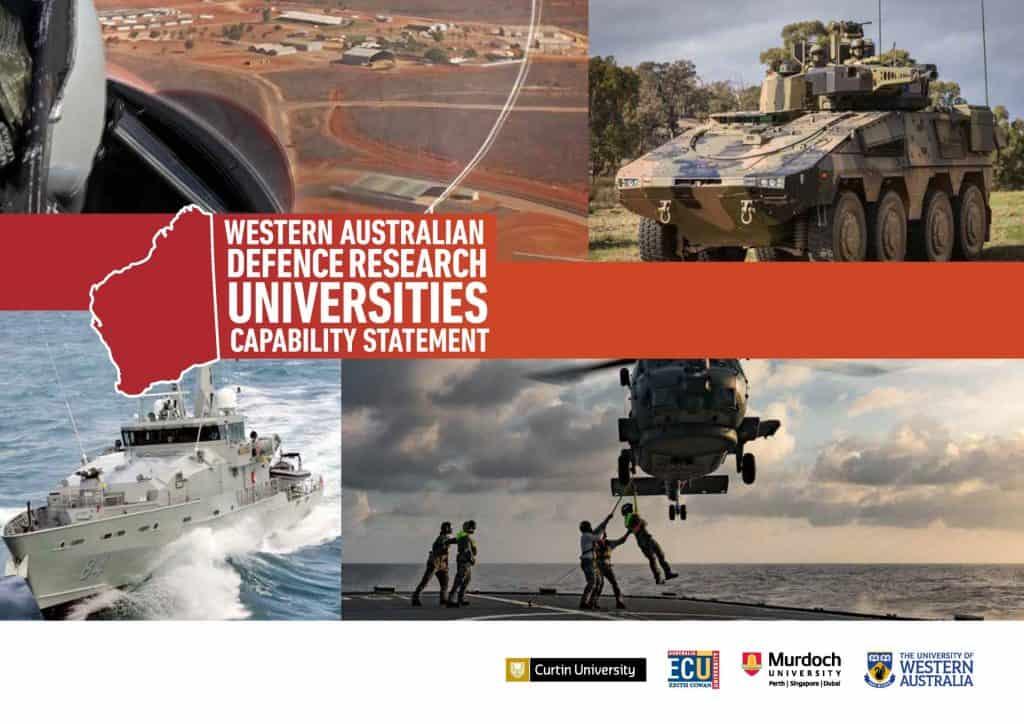 Western Australian Defense Research Universities - Capability-Statement