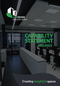 Ecosense - Capability Statement