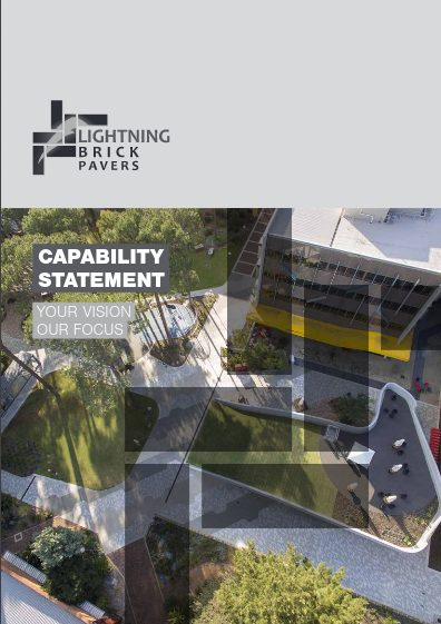 Lightning Brick Pavers – Capability Statement